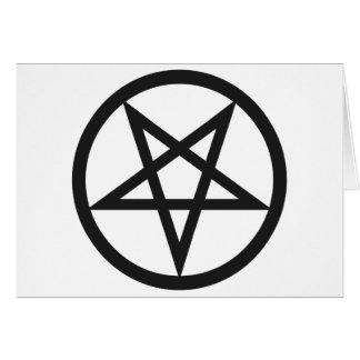 Cartão Pentagram corajoso