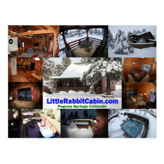 Cartão pequeno da cabine do coelho