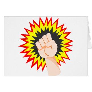 Cartão Perfurador da energia do poder do braço da força