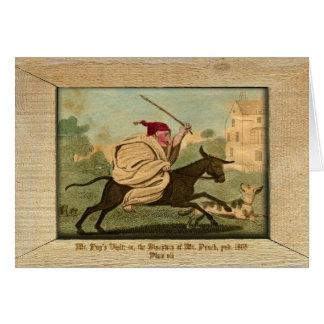 Cartão Perfurador & placa VII da imagem de Judy