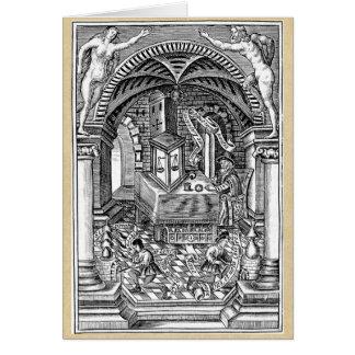 Cartão Perseguição da pedra do filósofo