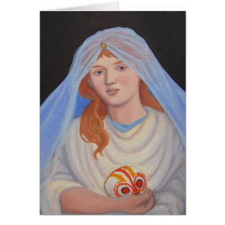 Cartão Persephone - dia do morto
