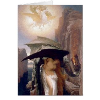 Cartão Perseus e Andromeda