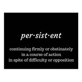 Cartão persistente