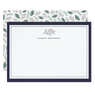 Cartão personalizado | dos artigos de papelaria do convite 12.7 x 17.78cm