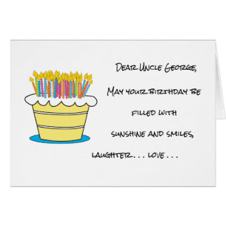 Cartão Personalize o cumprimento do feliz aniversario do