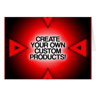 Cartão Personalize/personalize/criar seus próprios