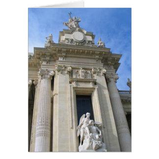 Cartão Perto de Palais grande Paris
