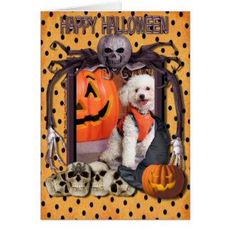 Cartão Pesadelo do Dia das Bruxas - Chloe - Poochon -