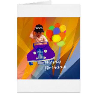 Cartão Pesaroso eu esqueci seu aniversário