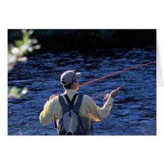 Cartão Pesca com mosca Colorado