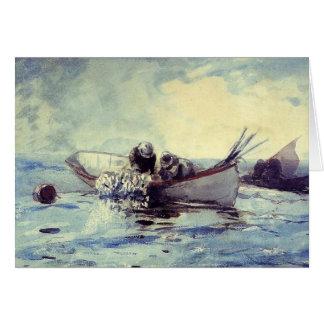 Cartão Pesca de arenques