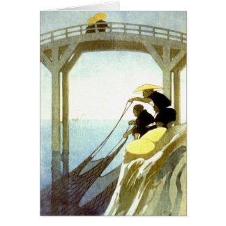 Cartão Pesca líquida 1913