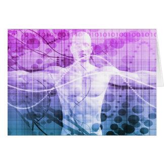 Cartão Pesquisa da ciência como um conceito para a