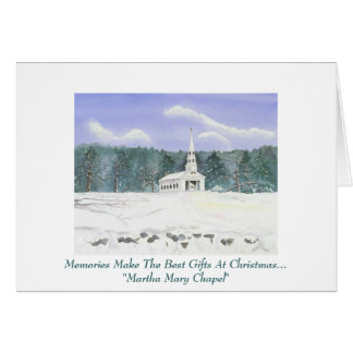 Cartão pessoal do Natal