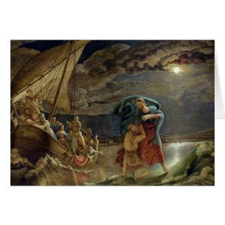 Cartão Peter anda na água, 1806