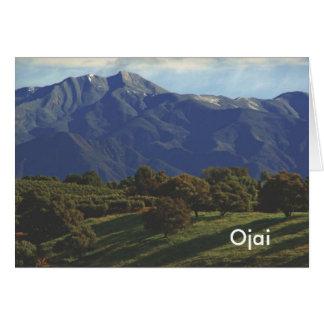 Cartão Pico principal, Ojai
