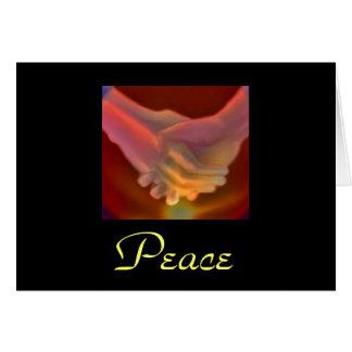 Cartão piedade, paz