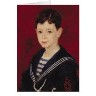 Cartão Pierre um retrato de Renoir   de Fernand Halphen