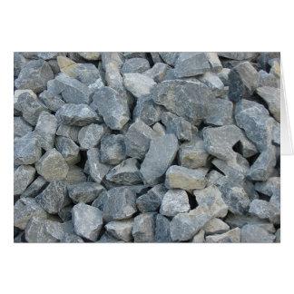 Cartão Pilha das rochas