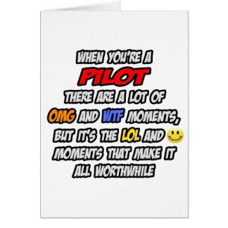 Cartão Piloto. OMG WTF LOL
