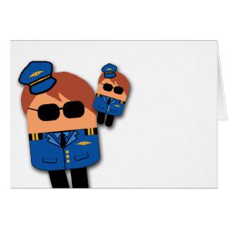 Cartão piloto vazio