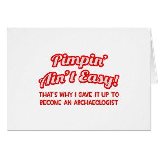 Cartão Pimpin não é fácil. Arqueólogo