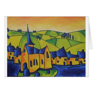 Cartão Pináculo da igreja