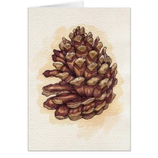 Cartão Pinecone