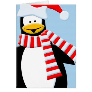 Cartão Pinguim legal