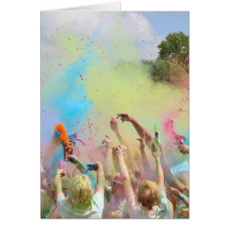 Cartão Pinte o festival