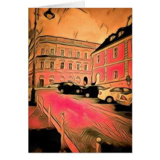Cartão Pintura de Sibiu