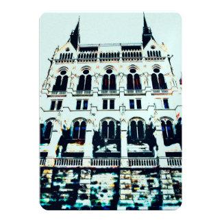 Cartão Pintura húngara do parlamento