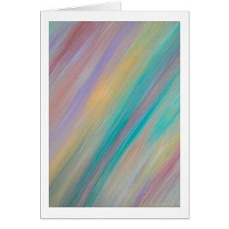Cartão Pintura Pastel - vazio para dentro