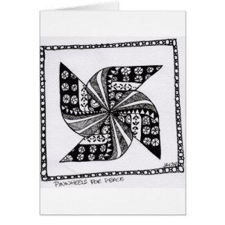 Cartão Pinwheel
