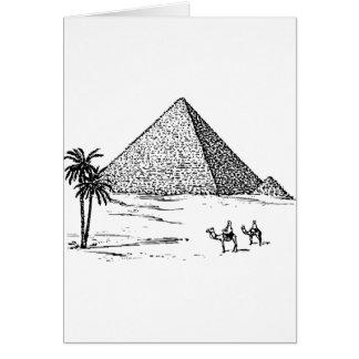 Cartão Pirâmide
