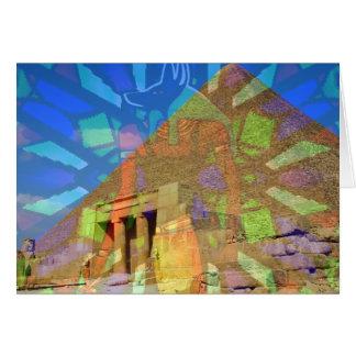 Cartão Pirâmide de Egyptian_