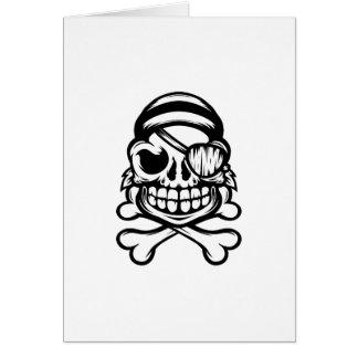 Cartão Pirata alegre