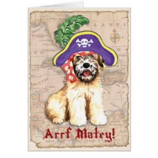 Cartão Pirata Wheaten