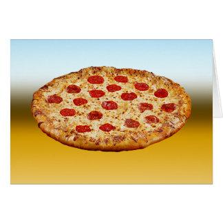 Cartão Pizza solitária - multi produtos