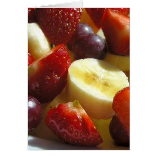 Cartão Placa da fruta