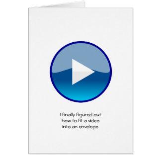 Cartão Placa de vídeo - código de QR permitido