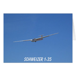 Cartão Planador 1-35 de Schweizer