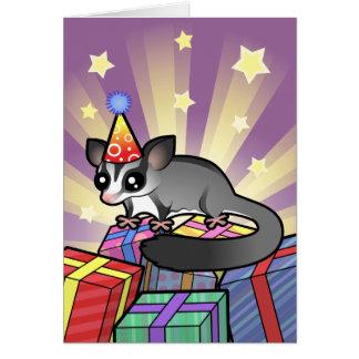 Cartão Planador do açúcar do aniversário