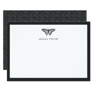 Cartão Plano personalizado | dos artigos de papelaria da