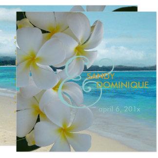 Cartão PLUMERIA LEI/BEACH/TROPICAL/DIYfonts de PixDezines