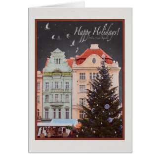 Cartão Plzen - árvore de Natal (WR)