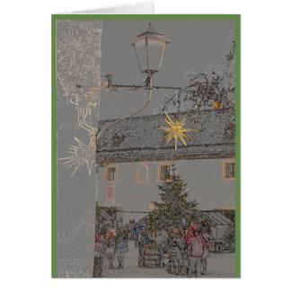 Cartão Pode seu Natal ser uma fonte de inspiração
