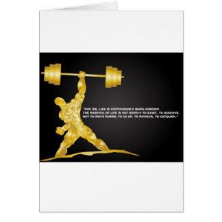Cartão Poder e força