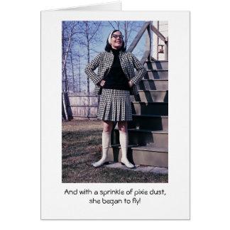 Cartão Poeira do duende